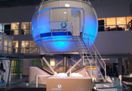Caverton-Thales Full Flight Simulator Factory Acceptance Test Ceremony in Cergy, February 2020