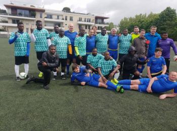 Diplomatic football Tournament at Stade Pietray Olier a Chatenay-Malabry,France on 4th May, 2019