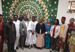 Meeting with Representative of the Nigerian Community in France 18th May 2019