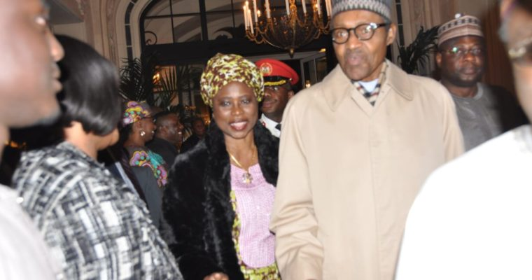 President Buhari's Visit to Paris